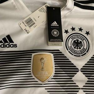 2018 Adidas Germany Home Jersey
